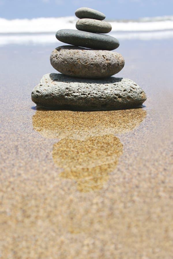strandzen royaltyfri foto