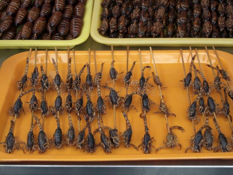 Strange chinese food royalty free stock image