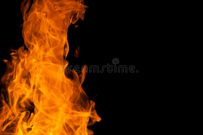 Strange fire royalty free stock photography
