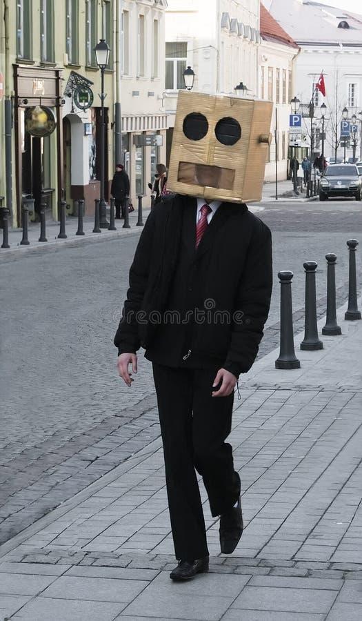 Strange passer stock photo