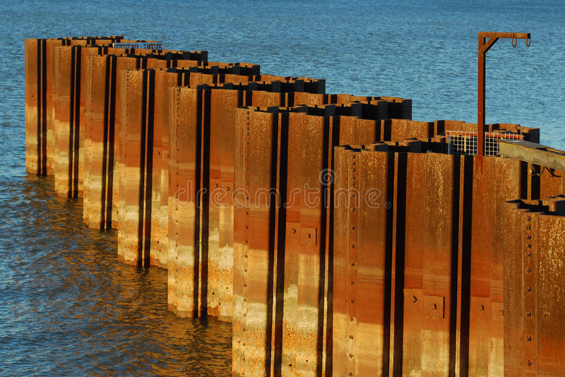 Download Strange structure stock image. Image of water, canada - 3437535