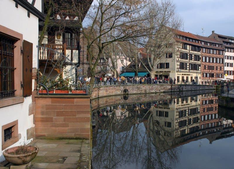 Download Strasbourg stock photo. Image of france, reflection, deutsch - 367952