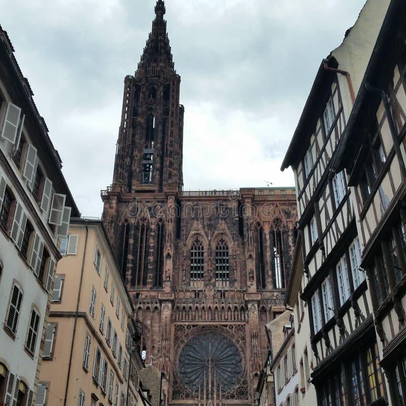 strasbourg royaltyfri bild