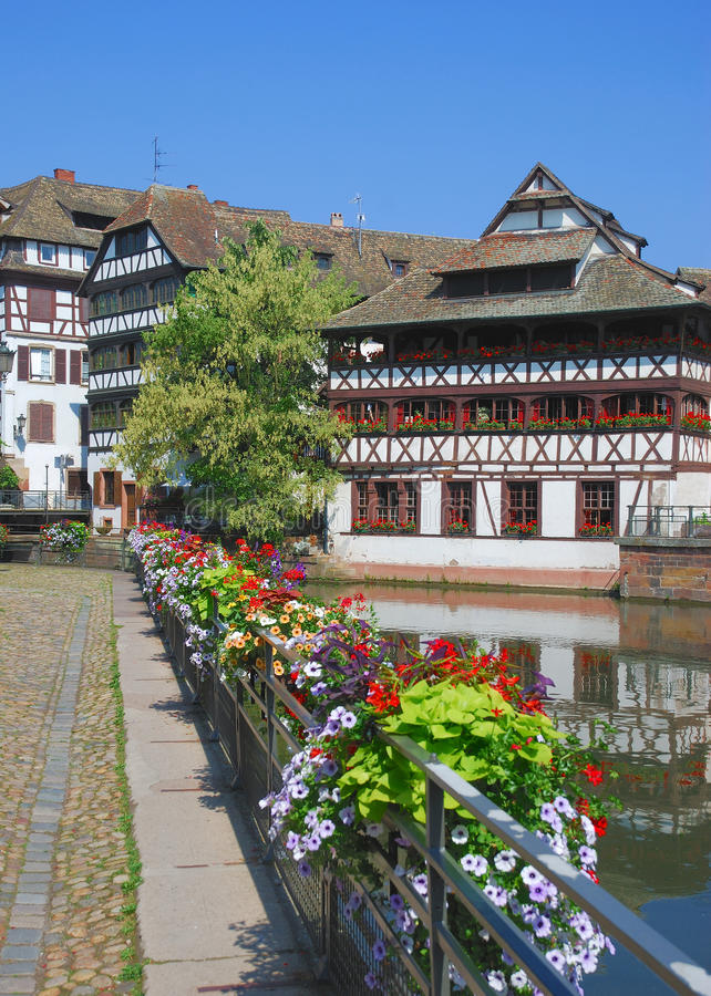 Download Strasbourg,Alsace,France stock photo. Image of canal - 22845934