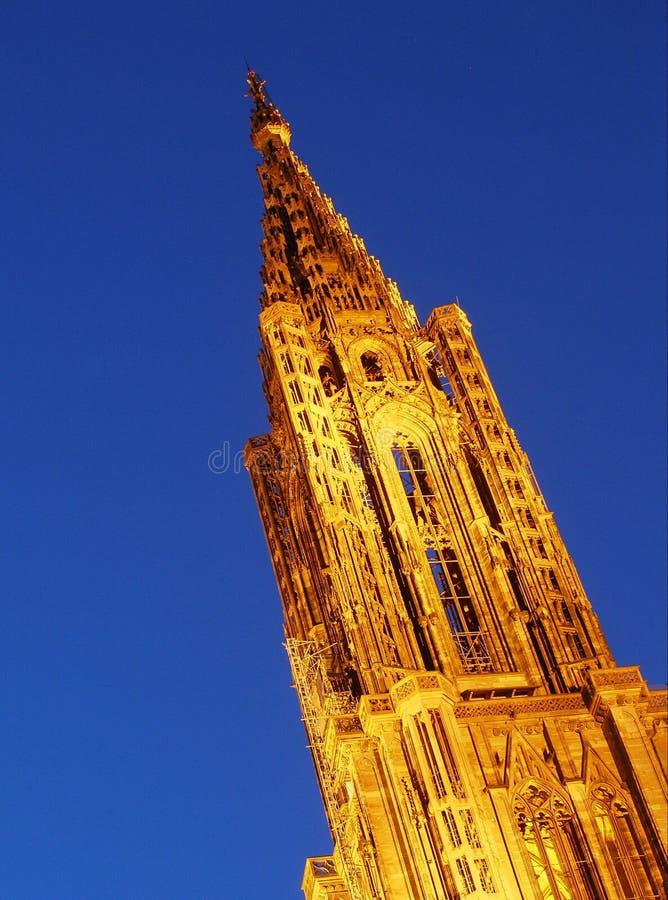 Strasbourg cathédral foto de stock