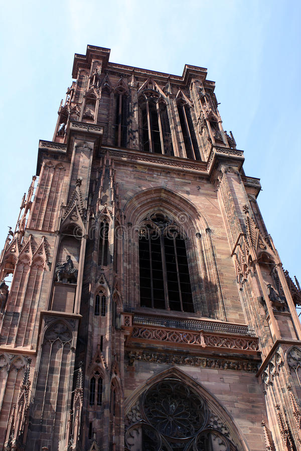 Download Strasbourg Cathedral stock photo. Image of landmark, facade - 20714502