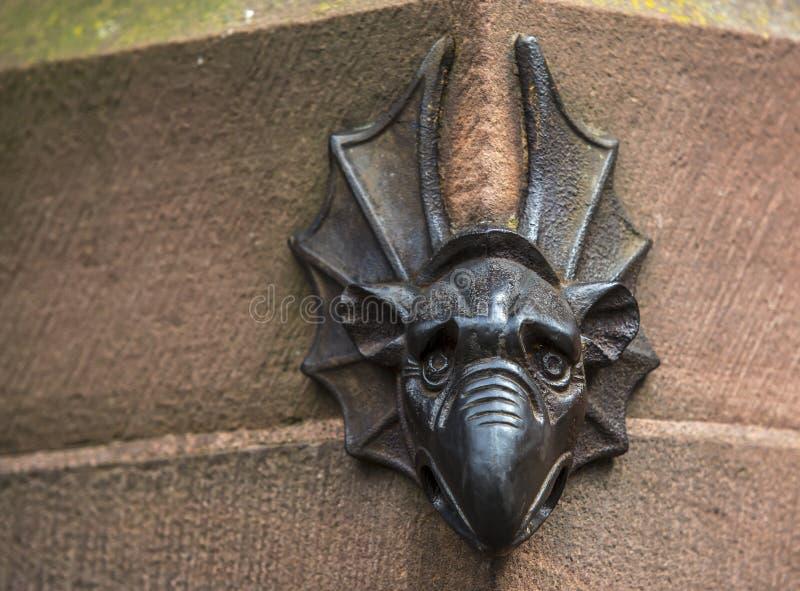 Strasbourg Cathedral Gargoyle stock image