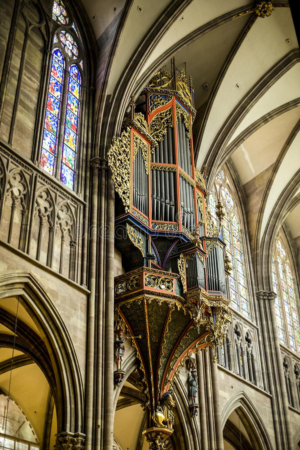 Download Strasbourg - The Cathedral Organ Stock Photos - Image: 27647103