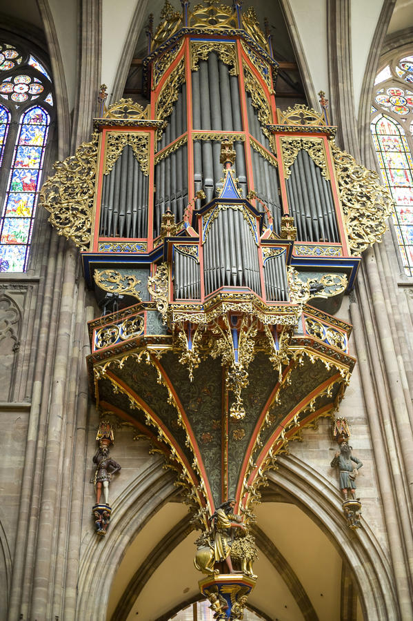 Download Strasbourg - The Cathedral Organ Stock Photos - Image: 27647113
