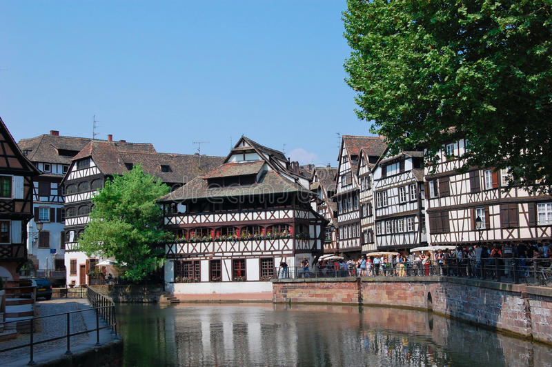 Download Strasbourg, France stock image. Image of city, half, houses - 18769003