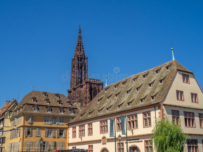 Historical Museum of Strasbourg stock photography