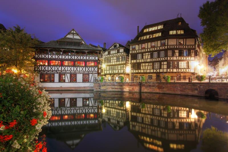 Strasbourg Frankrike royaltyfria bilder