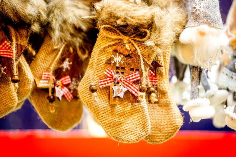 Strasbourg jul marknadsför - Frankrike arkivbilder