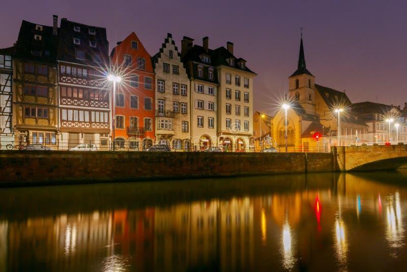 strasbourg Kaj St Thomas fotografering för bildbyråer
