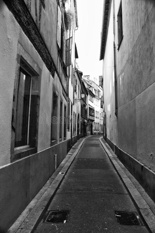 Download Strasbourg narrow street stock image. Image of narrow - 10813309
