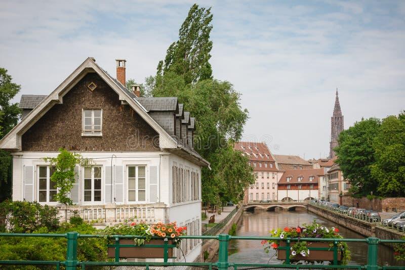 Strasbourg old town royalty free stock image