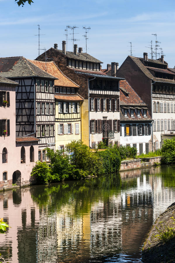 Download Strasbourg - Petite France stock photo. Image of river - 27665800