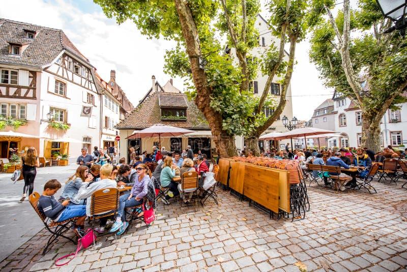 Strasbourg stad i Frankrike royaltyfri bild