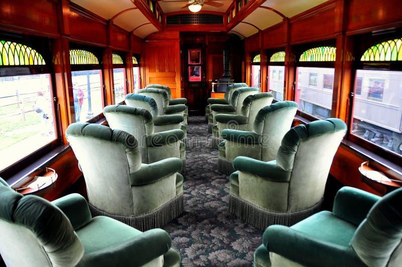 Strasburg, PA :宾夕法尼亚的铁路博物馆 免版税库存图片
