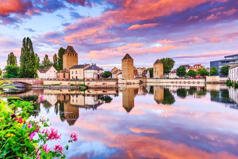 Strasburg, Alsace, Francja obrazy stock