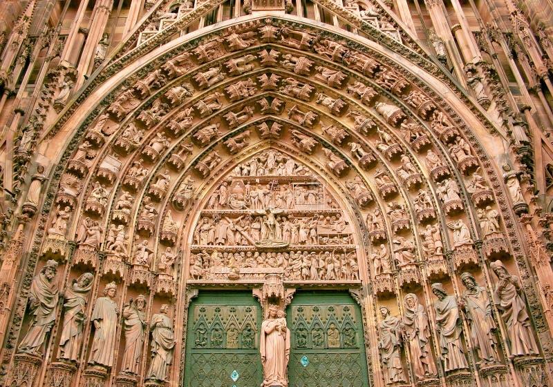 Strasburgo nell'Alsazia, Francia fotografie stock libere da diritti