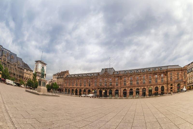 Strasburski Francja przy miejsca Kleber kwadratem zdjęcie royalty free