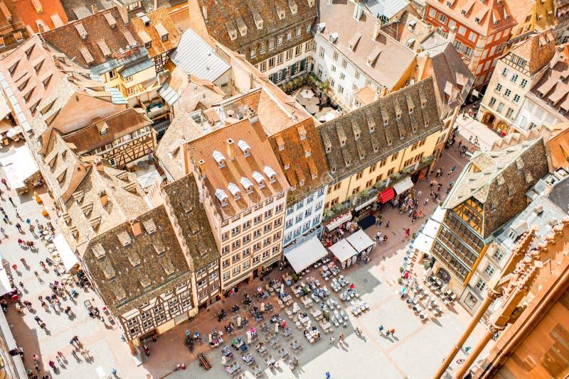 Strasburski miasto w Francja fotografia royalty free
