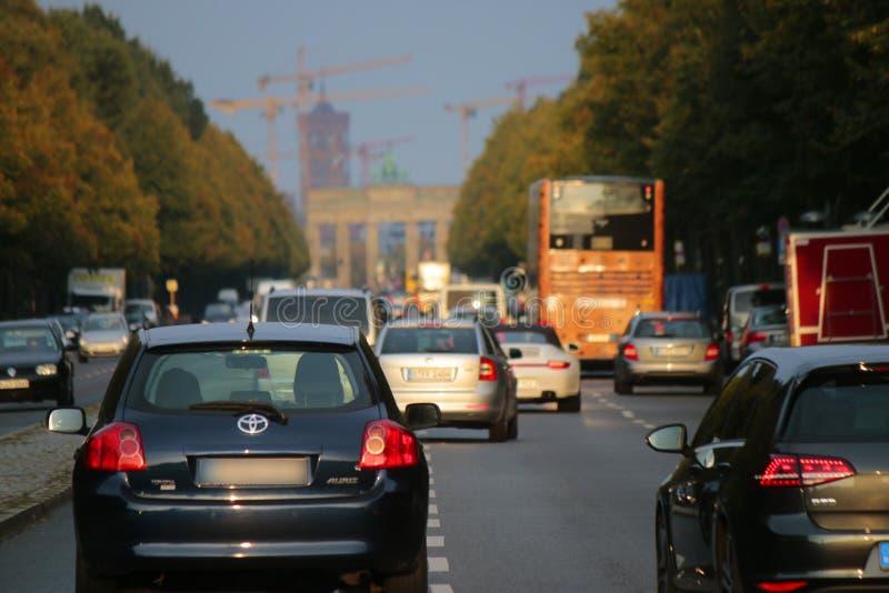Strasse des 17 Juni Berlin obraz stock