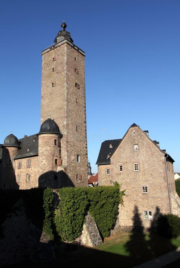 strasse steinau der замока стоковое изображение rf