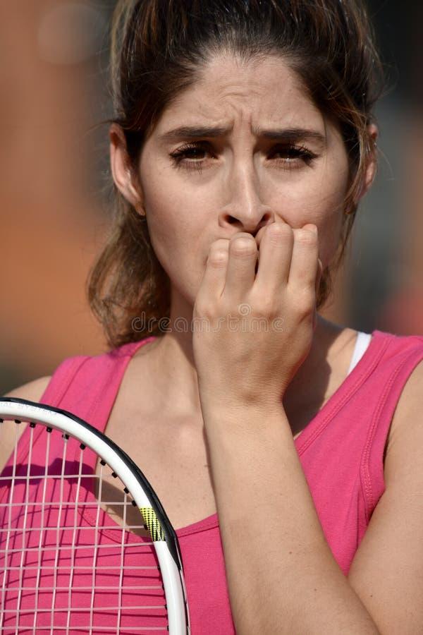 Straszna atlety osoba zdjęcie royalty free