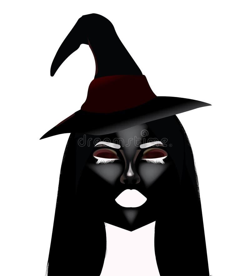 straszna czarownica zdjęcie stock