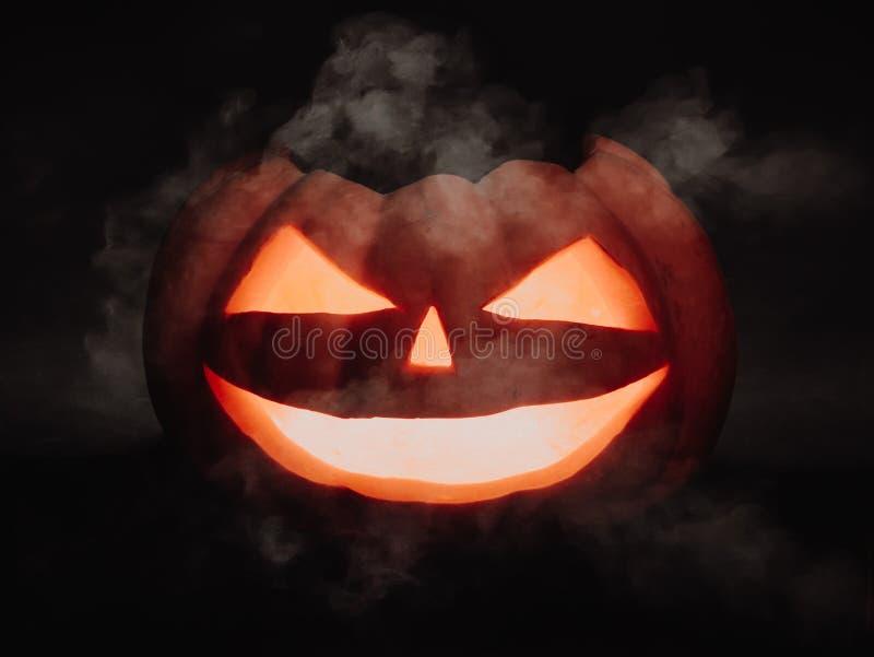 straszna Halloween bania zdjęcie royalty free