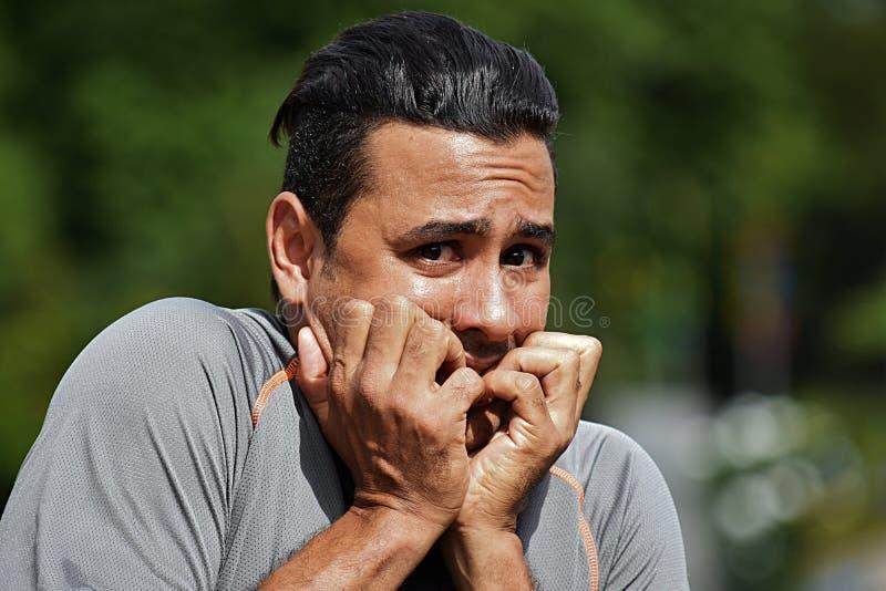 Strasznej atlety Kolumbijska osoba obraz royalty free