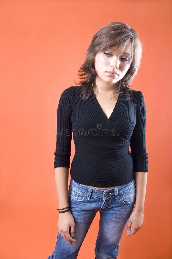 strasznie młodo kobiet zdjęcia royalty free