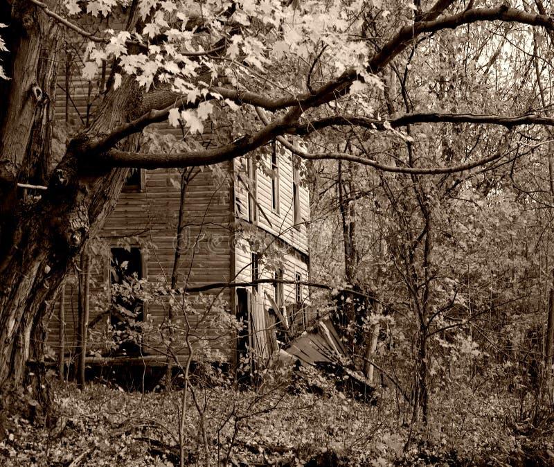 straszny dom zdjęcia royalty free