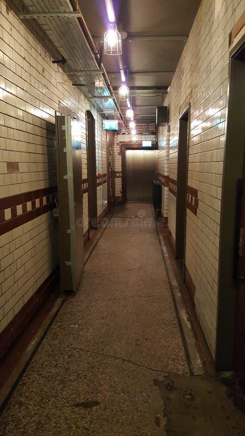 Straszny korytarz 2 zdjęcie royalty free