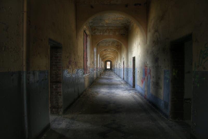 straszny korytarza fotografia stock