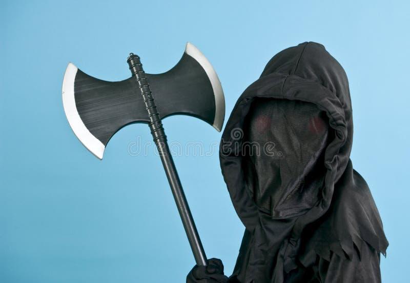 straszny kostiumowe czarnego zdjęcia royalty free