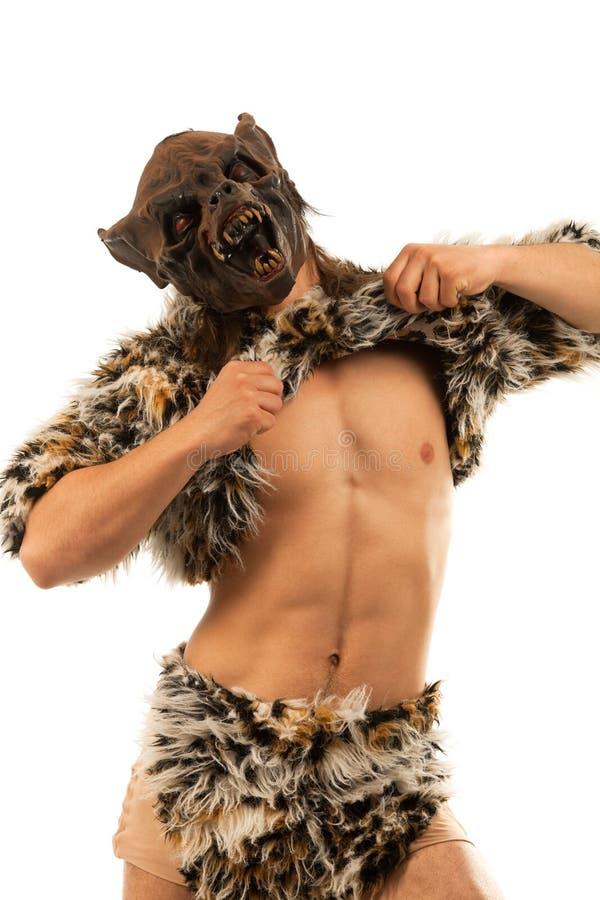 straszny warkliwy wilkołak obrazy royalty free