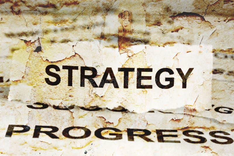 stratégie illustration stock