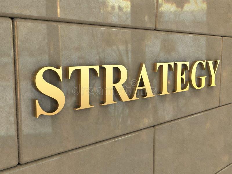 Stratégie de Word images stock