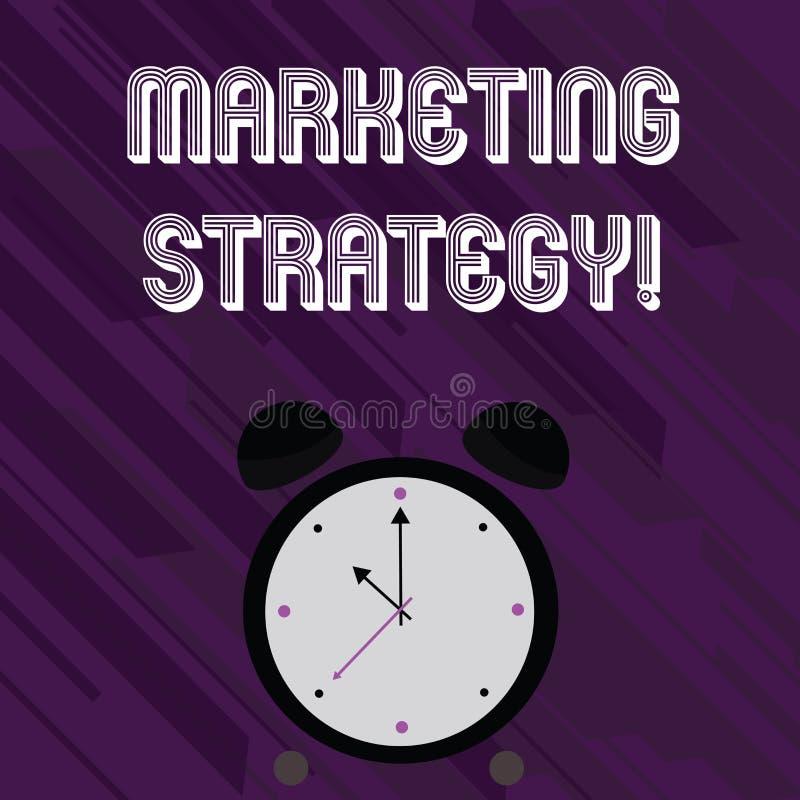 Stratégie marketing des textes d'écriture de Word Concept d'affaires pour l'organisation pour la recherche de créativité de formu illustration libre de droits