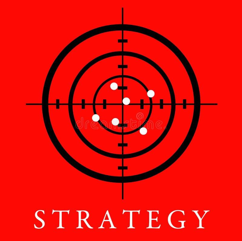 Strategia illustrazione di stock