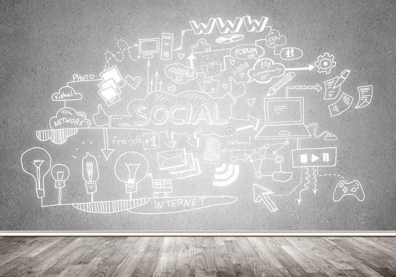Strategia aziendale e pianificazione immagini stock libere da diritti