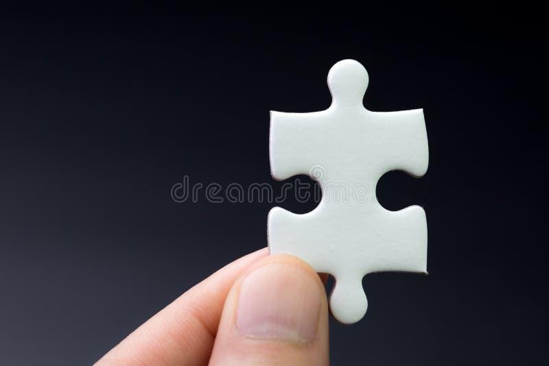 Strategia biznesowa brakuje kawałek, rozwiązanie dla sukcesu pojęcia, h zdjęcie stock
