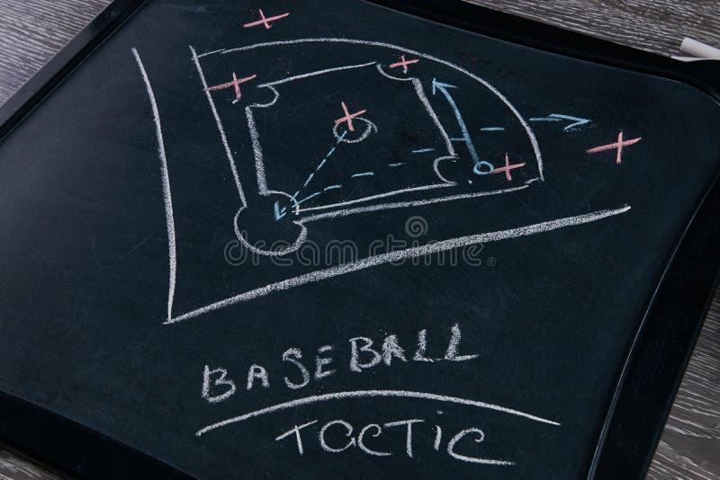 Strategia del gioco di baseball immagini stock