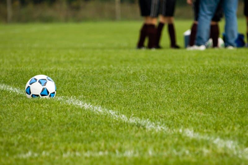 Strategia di calcio fotografia stock libera da diritti