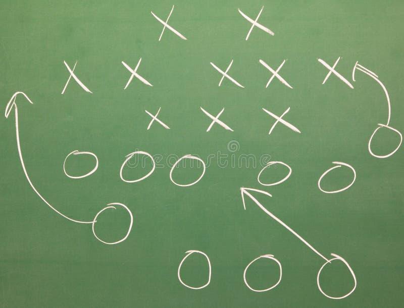 Strategia di gioco del calcio immagini stock libere da diritti
