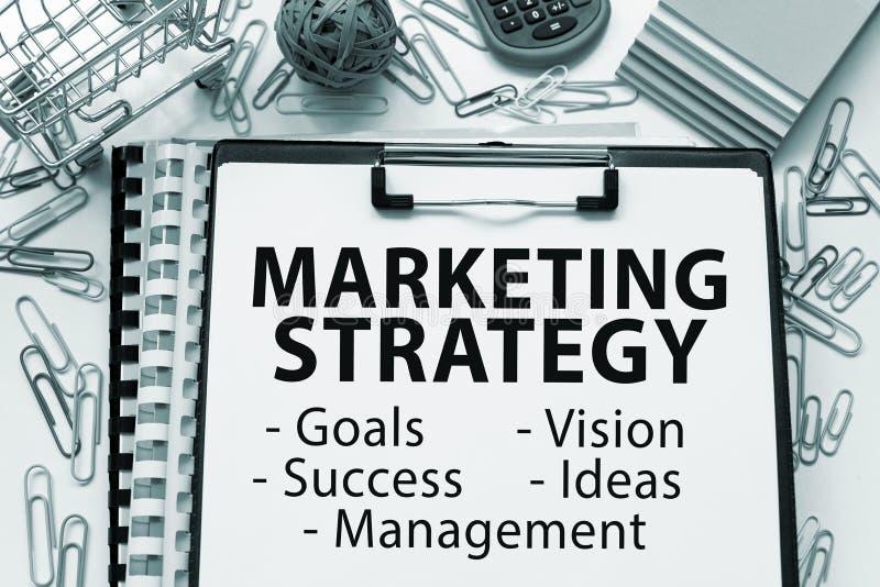 Strategia di marketing fotografia stock libera da diritti