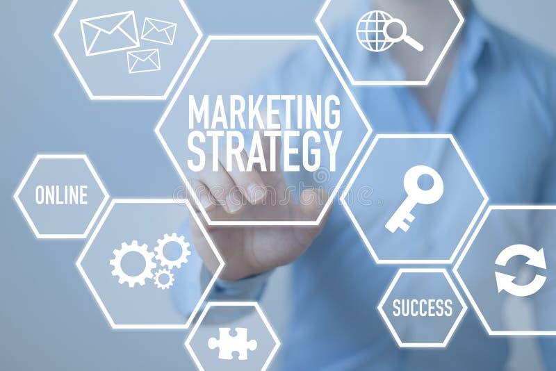 Strategia di marketing immagine stock